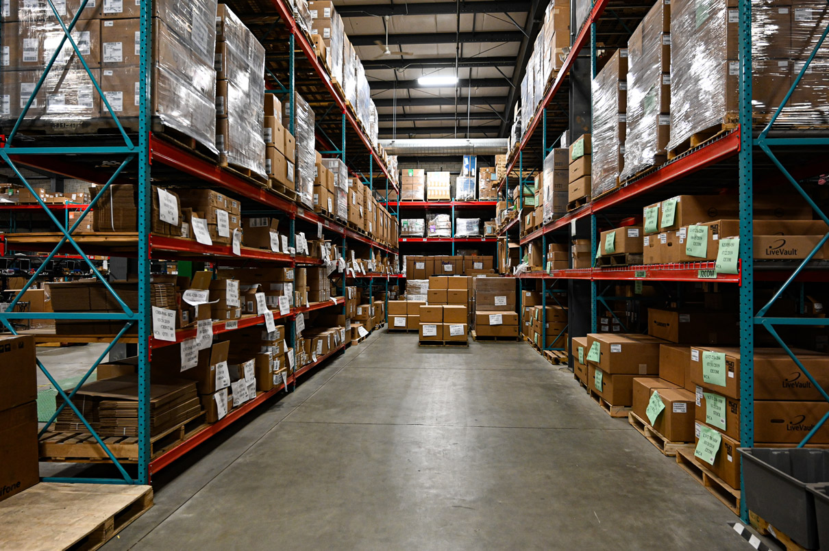 WCA OEM warehouse storage facility