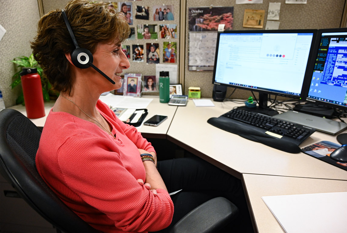 WCA OEM customer service answering a call
